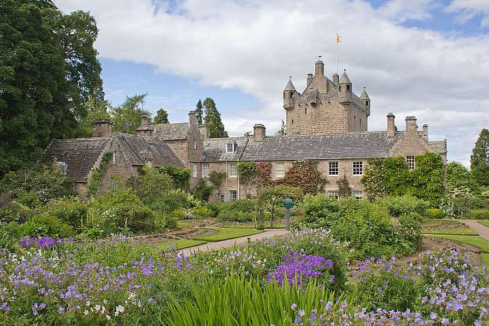Where Macbeth murdered Duncan: Cawdor Castle