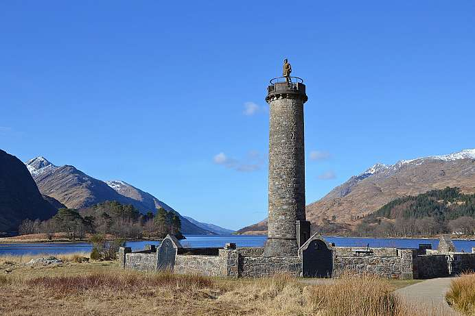 Scottish National Monument: Glennfinnan Monument