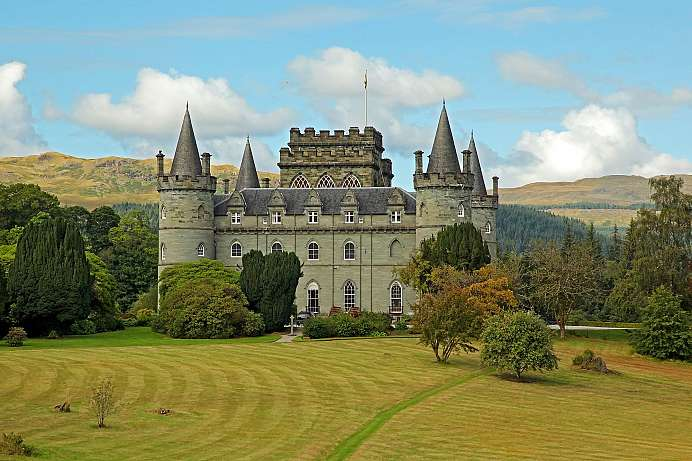 Residenz der Dukes of Argyll: Inveraray Castle