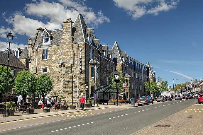 Ideal for day trips: Pitlochry