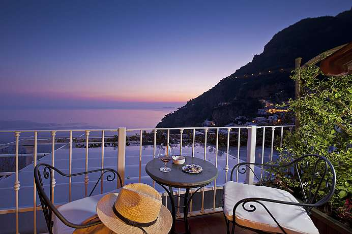 Fantastic views: Villa in Positano