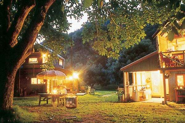 Romantisch & rustikal: Cottage am Whanganui River