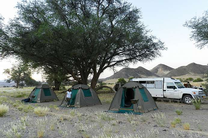 Ultimatives Afrika-Erlebnis: Camping Safari