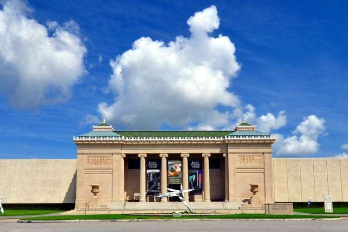 Kunst und Skulpturenpark: New Orleans Museum of Art
