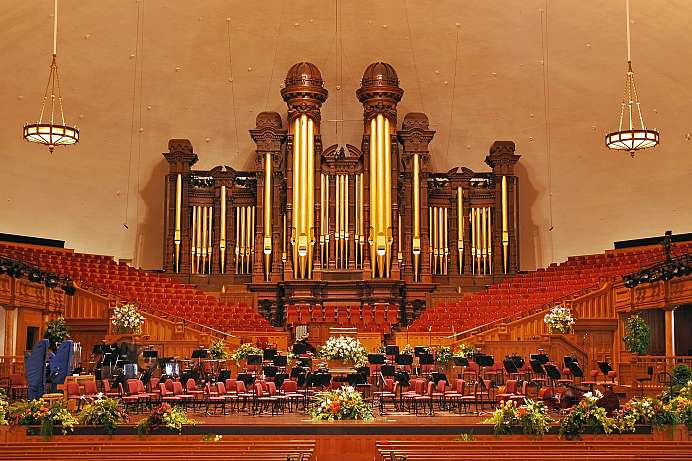 Zentrum der Mormonen: Tabernacle in Salt Lake City