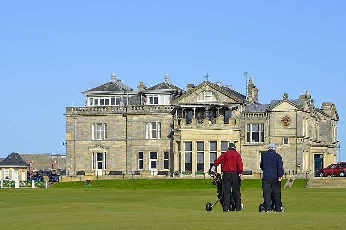 St. Andrews: One of the oldest golf courses in the world