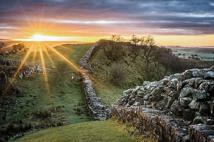 Hadrian's Wall in den Borderlands