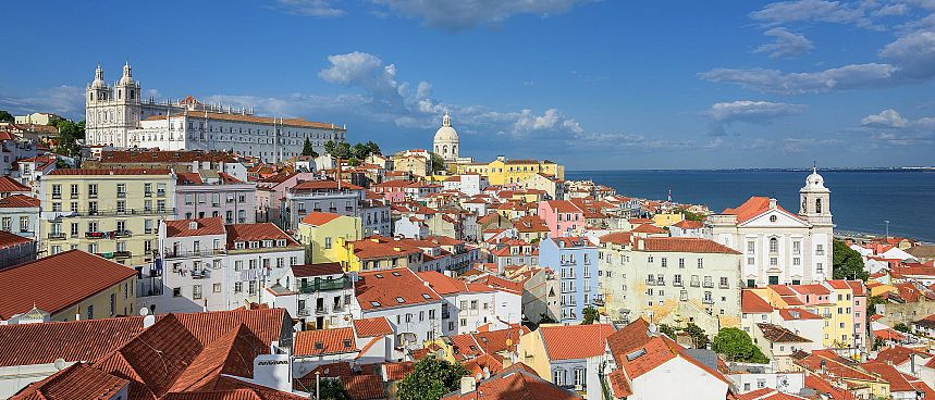 The oldest quarter in Lisbon: Alfama