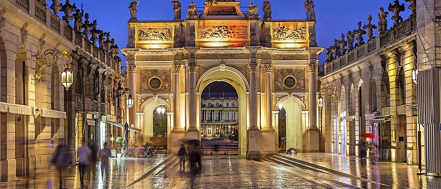 Barockes Nancy: Place Stanislas