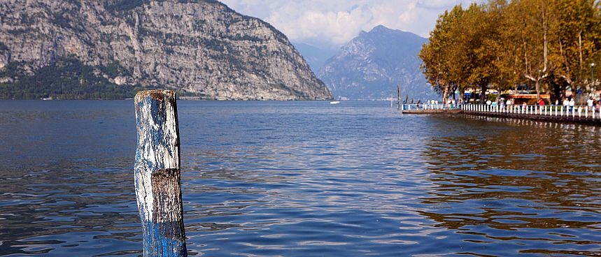 Unspoiled by mass tourism: Lago d'Iseo