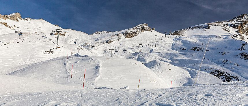 Paradise for hikers and skiers: Mount Titlis