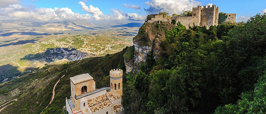 Sicily's attractive northwest: Fortress Erice