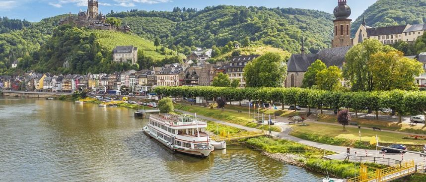 Romanticism and wine: Cochem on the Moselle