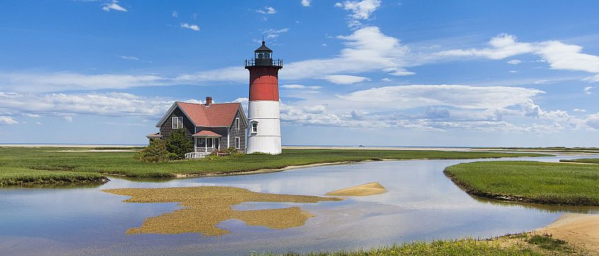 Nauset Lighthouse: Cape Cod
