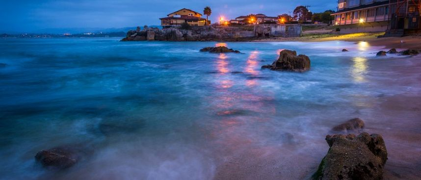 Rocky Beach in Monterey