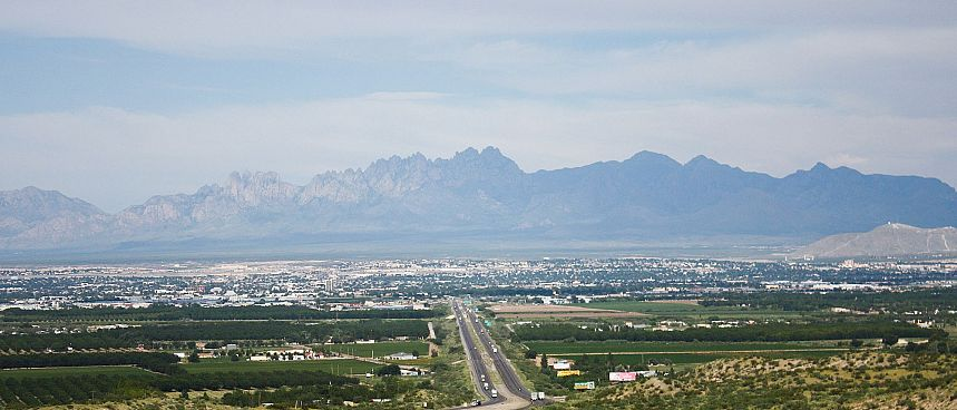 Am Fuß der Organ Mountains: Las Cruces