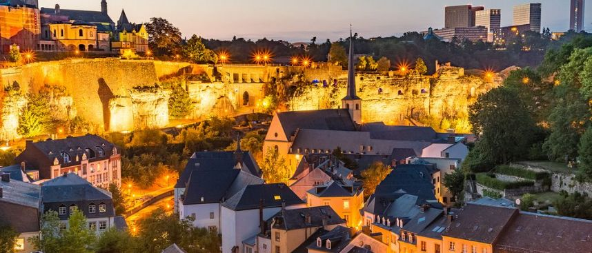 Small country in the heart of Europe: Luxembourg