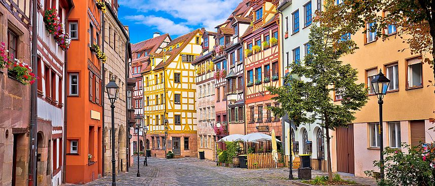 Old town of Nuremberg
