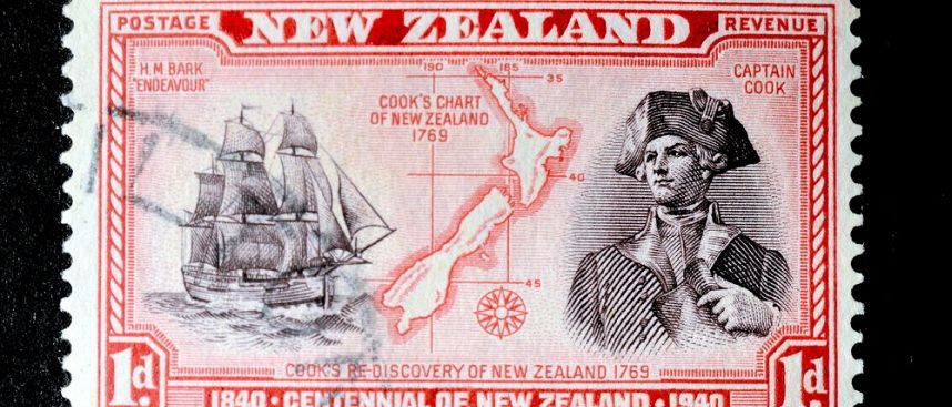 Wo Captain Cook an Land ging: Poverty Bay