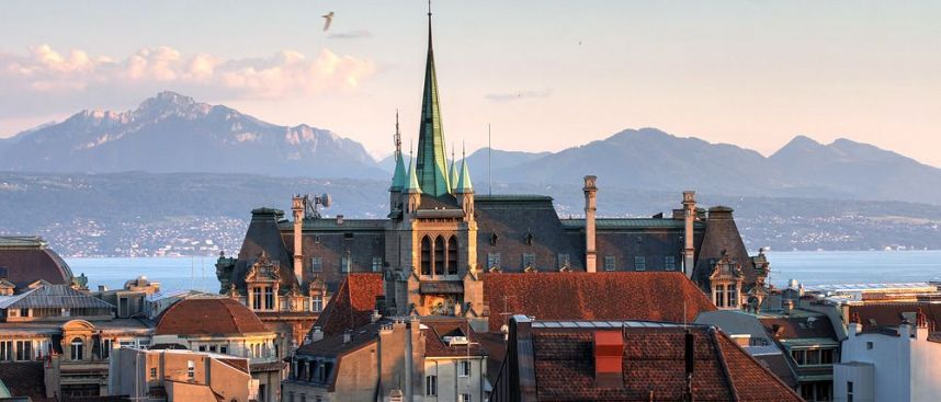 "Capital of the ""Swiss Riviera"": Lausanne"