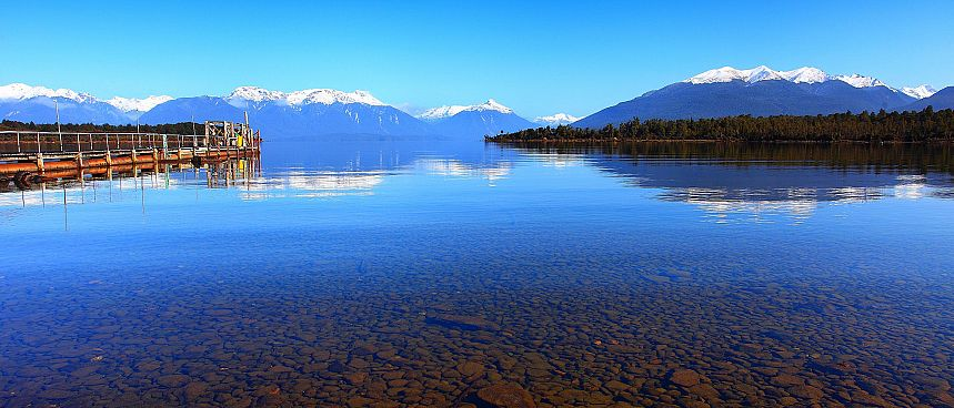 Stiller Morgen in Te Anau