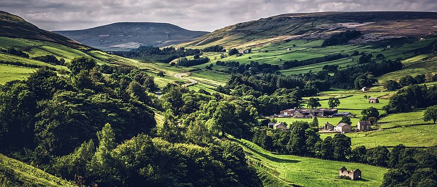Yorkshire Dales in Nordengland