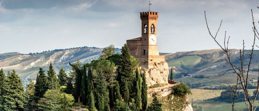 Dotted with medieval castles: Emilia Romagna