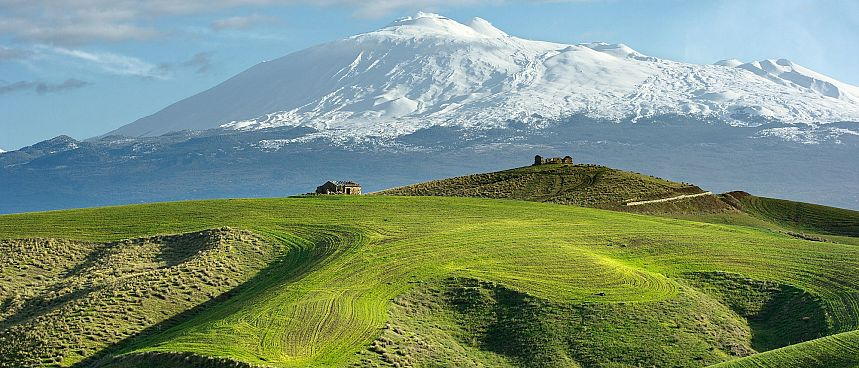 Etna: Fertile soil on a slope