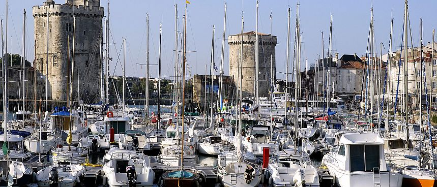 The old harbor of La Rochelle