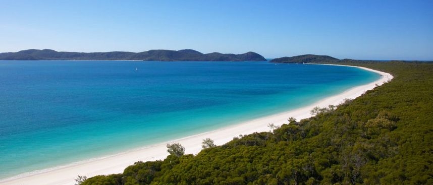 Tropisches Paradies: Whitehaven Beach