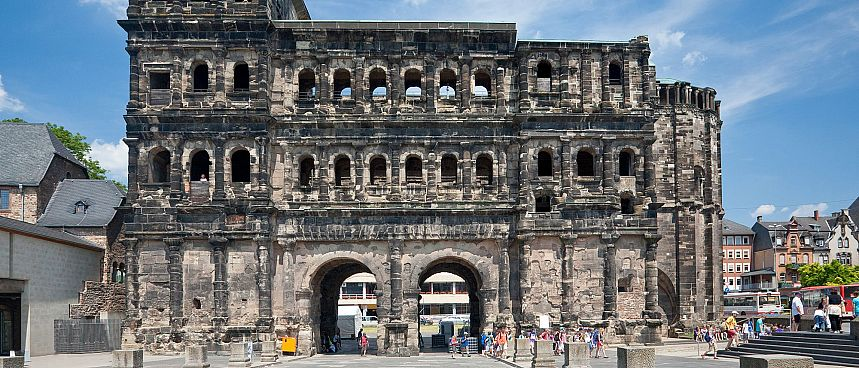 Intact: Porta Nigra from 200 BC.