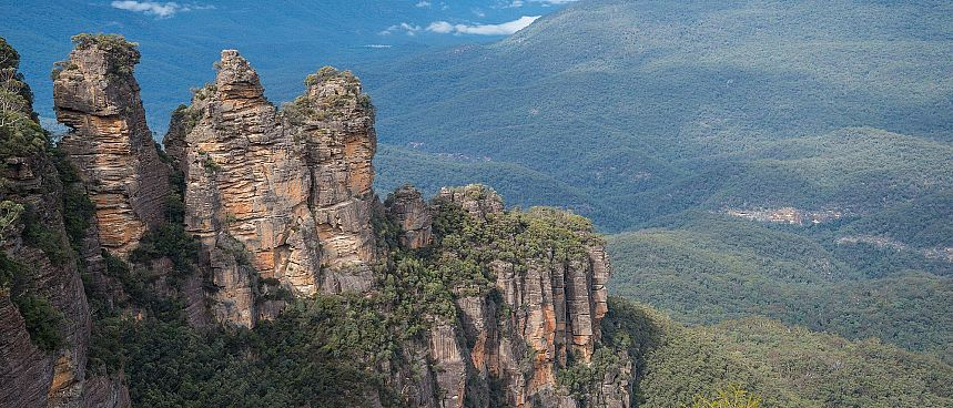 Blue Mountains: Three Sisters