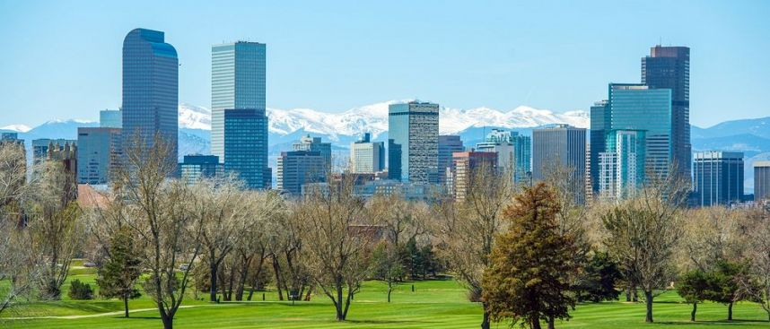 Am Fuß der Rocky Mountains: Denver mit Civic Center Park