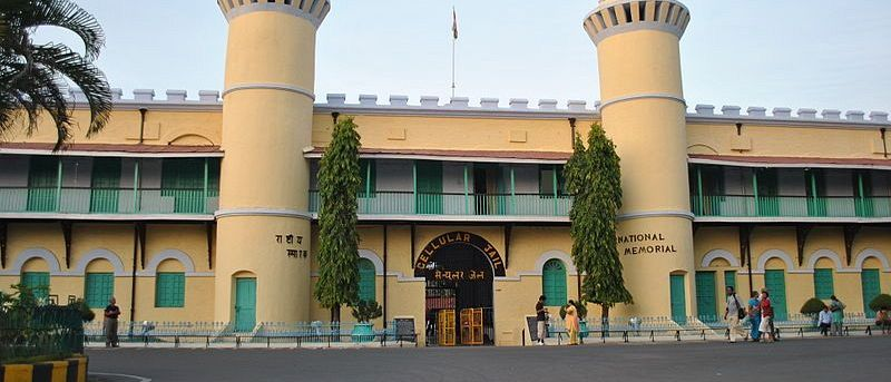 Ehemaliges Gefängnis: Cellular Jail in Port Blair