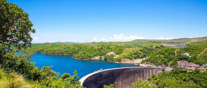 Stausee der Superlative: Lake Kariba