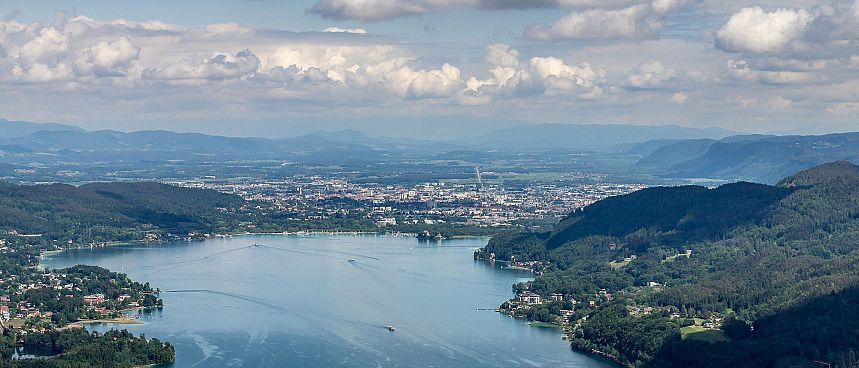 Warmest lake of the Alps: Lake Wörthersee