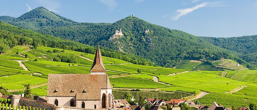 Alemannic France: Hunawihr in Alsace