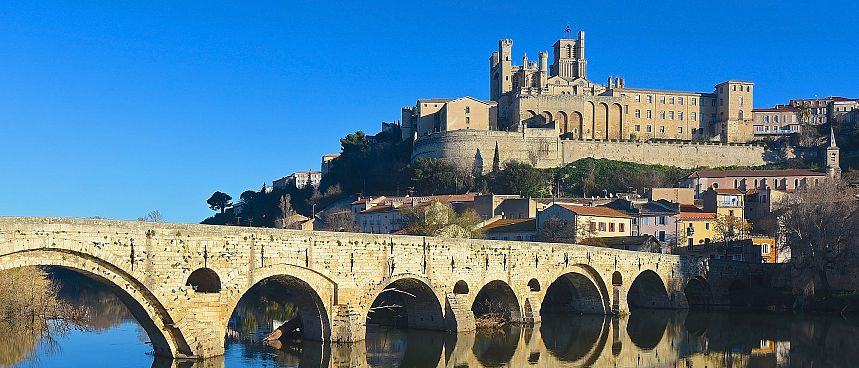 Rich in atmosphere: Beziers in Languedoc